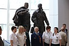 The Aviators Sculpture Unveiled at Novosibirsk Airport