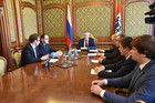 Development Prospects for Tolmachevo Airport Discussed During the Meeting with the Governor of the Novosibirsk Region
