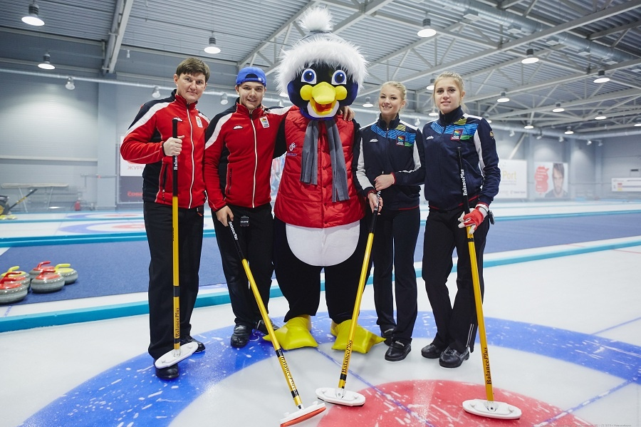 Curling-club «The Penguin»
