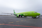 Presentation of New-Generation Boeing 737 MAX Held in Novosibirsk