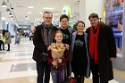 World-Renowned Violist Vadim Repin Performed at Novosibirsk Airport