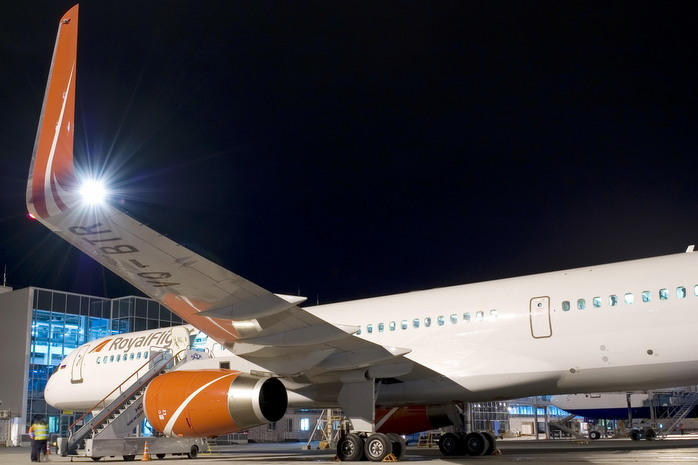 More than 10 charter flights from Tolmachevo during the